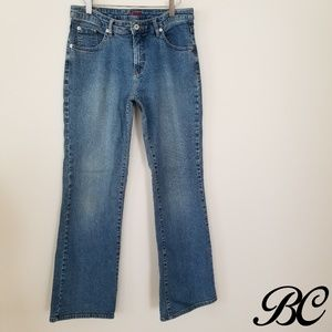 JAG Jeans Western Light Wash Boot Cut Soft Comfort